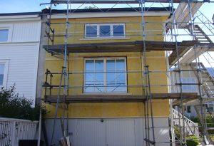 Fasadarbeten pris
