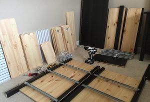 Möbelmontering snabbt